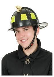 Halloween Costumes Firefighter Black Fireman Helmet