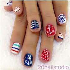 marine nails nails pinterest marine nails and colorful nails