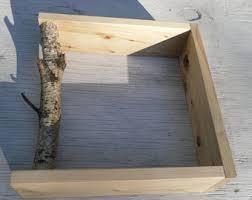 Floating Box Shelves by Shadow Box Shelf Etsy