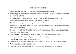 Web Developer Resume Sample   Writing Tips   RG aploon
