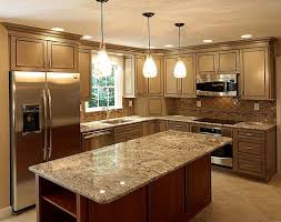 Small U Shaped Kitchen Layout Ideas by U Shaped Kitchen Remodel For 10 X10 The Most Impressive Home Design