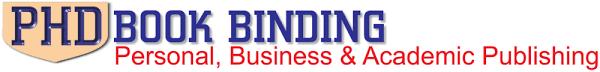PHD Book Binding   Personal  Business  amp  Academic Publishing