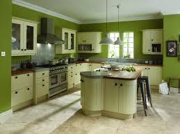 kitchen enchanting green kitchen wall combined with mahogany