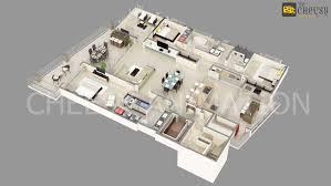 Free 3d Home Design Planner 3d Floor Plan Home Office Villa Hotel Rendering