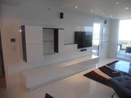Bedroom Wall Units Designs Custom Made Wall Unit Laquered Thermo Foil By Miami Home Design