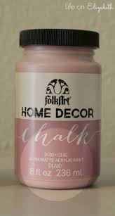 life on elizabeth u0027folkart home decor chalk u0027 paint review