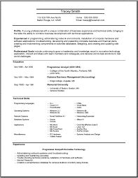 Student Resume Examples First Job by Sample Resume In Ms Word 2007