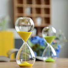 5 10 15 30 minutes sand glass sandglass hourglass timer clock home