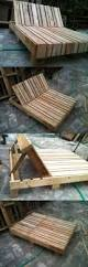 Patio Furniture Wood Pallets - best 25 pallet deck furniture ideas on pinterest sectional