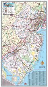 Map Nj New Jersey Wall Map Executive Commercial Edition Swiftmaps Com