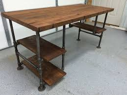 8 Foot Desk by Best 25 Reclaimed Wood Tables Ideas On Pinterest Reclaimed Wood