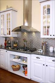 Kitchen  Metal Backsplash Ideas White Backsplash Ideas Silver - White tin backsplash