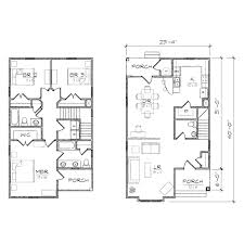 bungalow floor plans with attached garage 2 bedroom