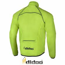 reflective bike jacket mens cycling jacket high visibility waterproof running top rain