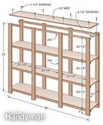 Build Wooden Shelf Unit by Alternative Swing Out Plywood Sheet Storage Farm Pinterest
