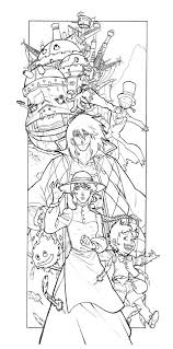107 best studio ghibli coloring pages images on pinterest studio