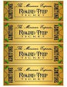 polar express golden ticket print out