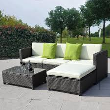 How To Clean Outdoor Patio Furniture by Sofas Center Eak Wood Patio Furniture Set And Modern Wicker