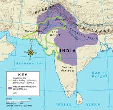 Ancient India Map by Period 2 600 Bce To 600 Ce Mr G Ahs