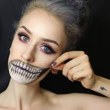 Skeleton Makeup For Halloween by Halloween Makeup Ideas From Reddit Popsugar Beauty