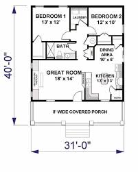 Small Cottage Floor Plan 1054 Best Home Ideas Images On Pinterest Small House Plans