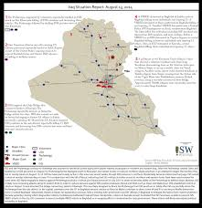 Iraq Syria Map by Iraq Situation Maps At Institute For The Study Of War