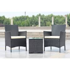 White Wicker Outdoor Patio Furniture by White Wicker Patio Furniture Wayfair