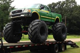 bigfoot summit monster truck nitto trail grappler side view mudder trucks pinterest