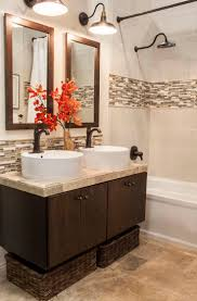 Mosaic Bathroom Tile by Best 25 Accent Tile Bathroom Ideas On Pinterest Small Tile