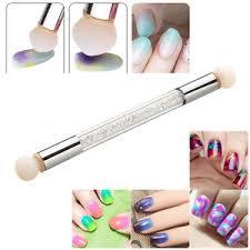 uv gel painting nail gradient pen nail art sponge brush manicure