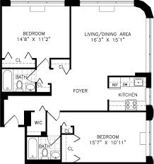 Two Bedroom Apartment Floor Plans Studio One And Two Bedroom Apartment Floor Plans For Rent The