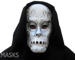 Bellatrix Lestrange Halloween Costume Death Eater Mask Etsy