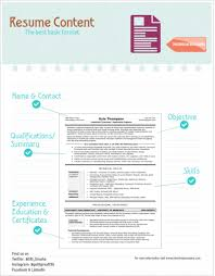 The Best Resume Templates 2015 by Resume Content The Best Basic Format For A Technical Resume