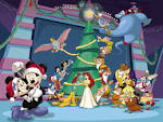 Wallpapers Backgrounds - decorating Christmas (Decorating wallpapers christmas mickey mouse disney wp christmascartoons org 1024x768)