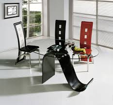Contemporary Dining Room Table by 40 Glass Dining Room Tables To Revamp With From Rectangle To Square