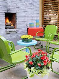 Best Garden Design Images On Pinterest Landscaping Backyard - Colorful patio furniture
