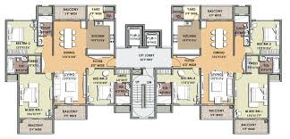 bedroom awesome 4 bedroom apartment floor plans home design