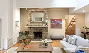this 2 995m duplex townhouse was carved out of a 1902 waterworks 25 joralemon street brooklyn heights living room fireplace