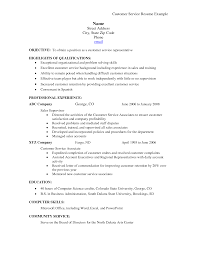 Retail Professional Summary Resume Examples For Customer Service Position Template Examples