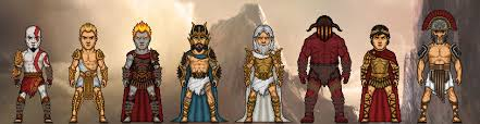 Gods Of War by Gods Of Olympus God Of War By Microman181 On Deviantart