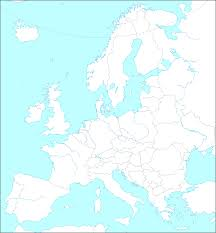Labeled Map Of Central America by Europe Entrancing A Labeled Map Of Europe Evenakliyat Biz