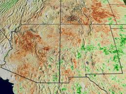Southwest Colorado Map by Svs Ndvi Anomalies Show Areas Of Likely Drought In The Western Us