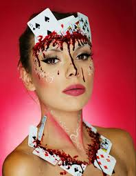 The 15 Best Sugar Skull Makeup Looks For Halloween Halloween by Bloody Halloween Makeup Ideas Halloween Makeup Poker And Makeup