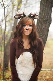 Halloween Costume Ears 50 Pretty Halloween Makeup Ideas U2014minimal Costume Required Deer