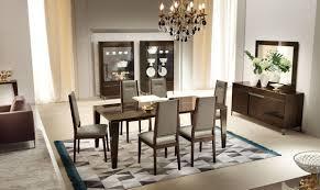 soprano italian modern extendable dining table