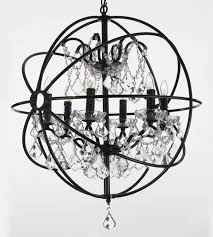 Foyer Chandeliers Lowes by Stylish Black Sphere Chandelier Shop Chandeliers At Lowes