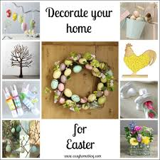 nice cream nuance of the easter decorations for the home that has