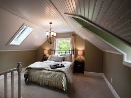 bedroom interesting small attic bedroom ideas and extra bed with full size of bedroom astounding low vaulted ceiling plank for attic bedroom design with skylight roof