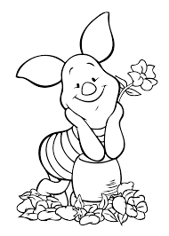 winnie pooh piglet coloring page coloring pages pinterest