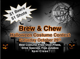 halloween costume party at the brew u0026 chew freeport il news network